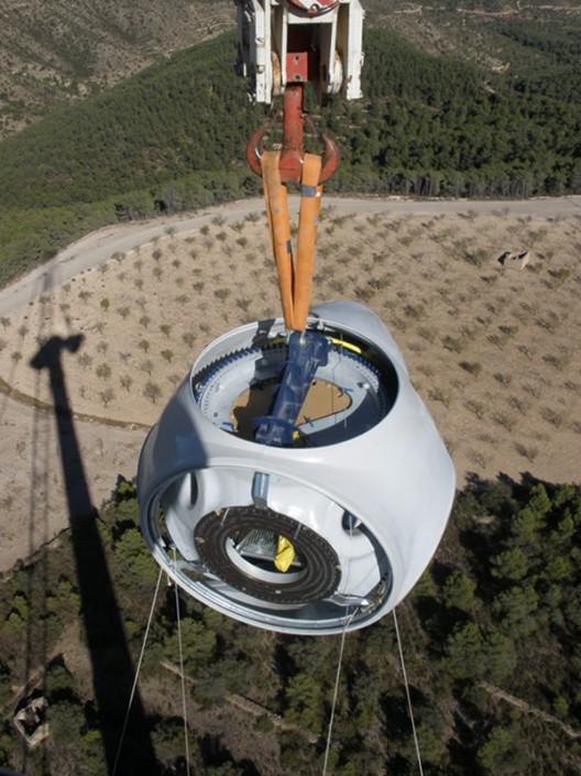 Elevación buje (aerogeneradores)